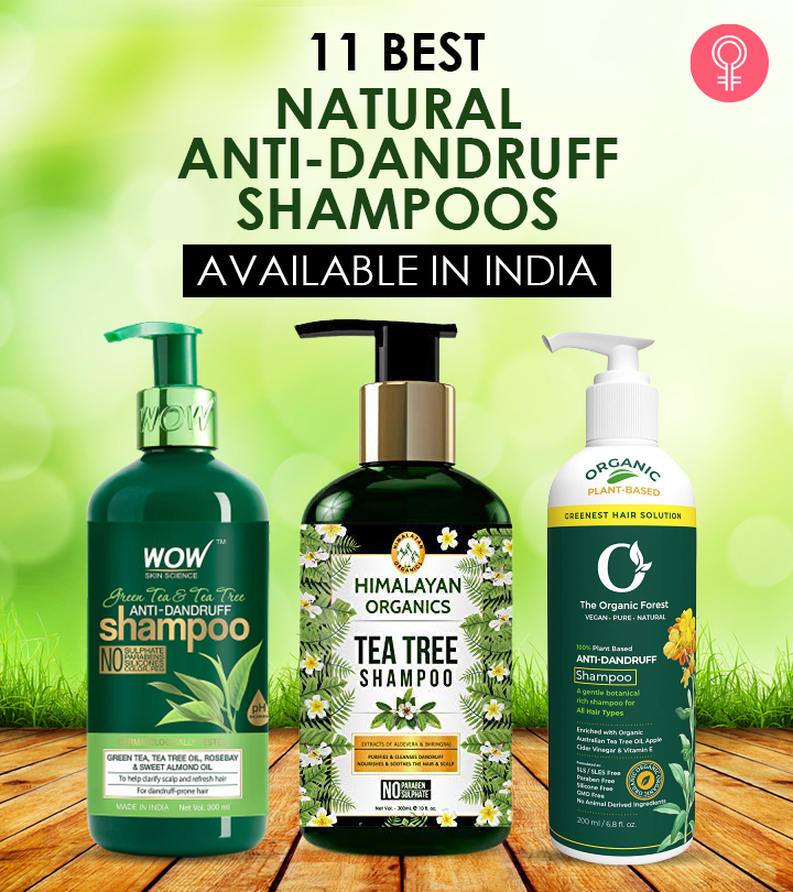11 Best Natural Anti-Dandruff Shampoos Available In India