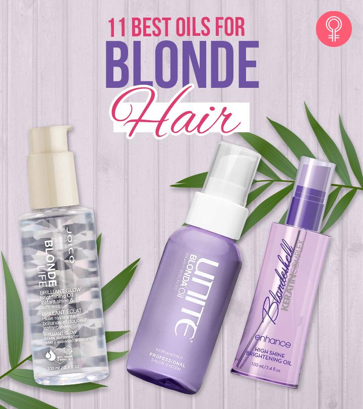 11 Best Oils For Blonde Hair