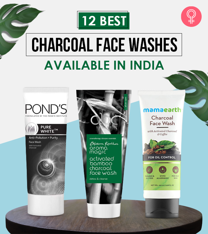 12 Best Charcoal Face Washes Available In India