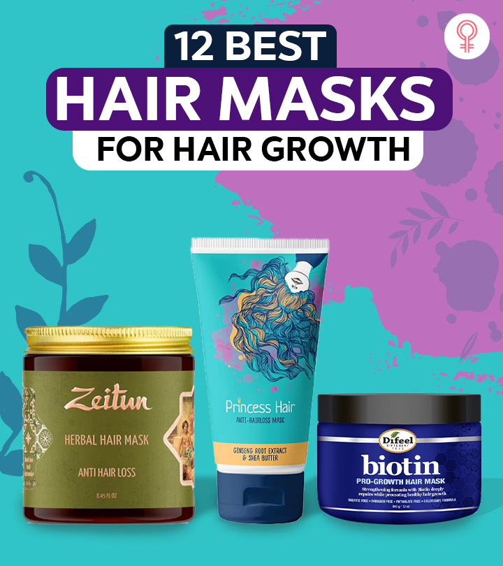 12 Best Hair Masks For Hair Growth