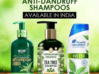 12 Best Natural Anti-Dandruff Shampoos Available In India-1
