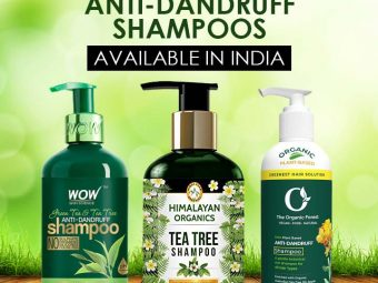 12 Best Natural Anti-Dandruff Shampoos Available In India