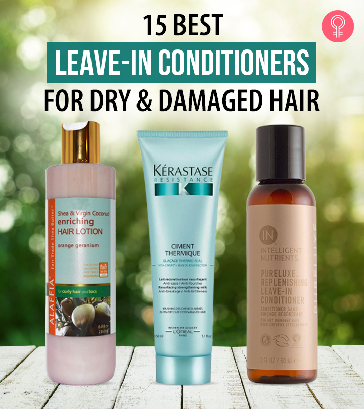 15 Best Leave-in Conditioners For Dry And Damaged Hair