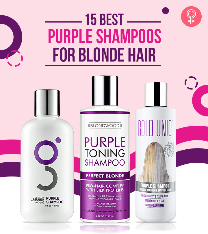 15 Best Purple Shampoos For Blonde Hair