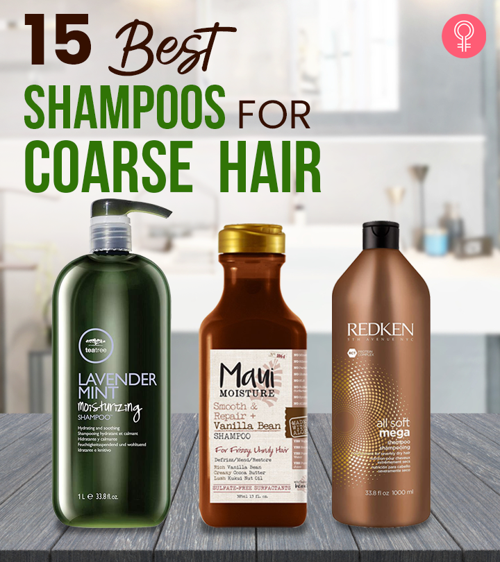 15 Best Shampoos For Coarse Hair