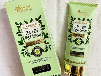Oriental Botanics Australian Tea Tree Face Wash -Gentle face wash for acne prone skin-By stunner_skincare_