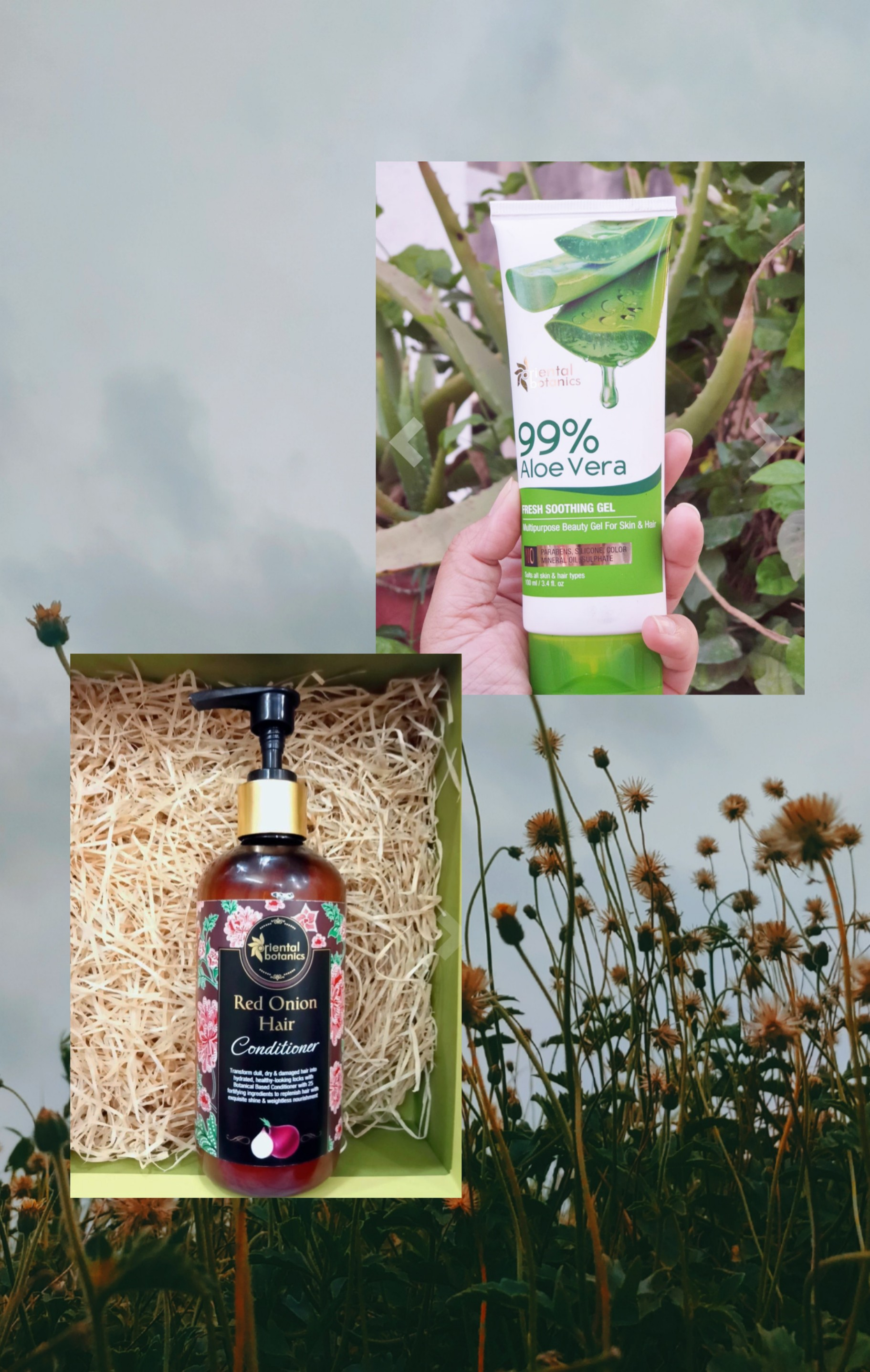 Oriental Botanics 99% Aloe Vera Fresh Soothing Gel For Skin & Hair-Good for skin & hair-By janhavipatel_-1