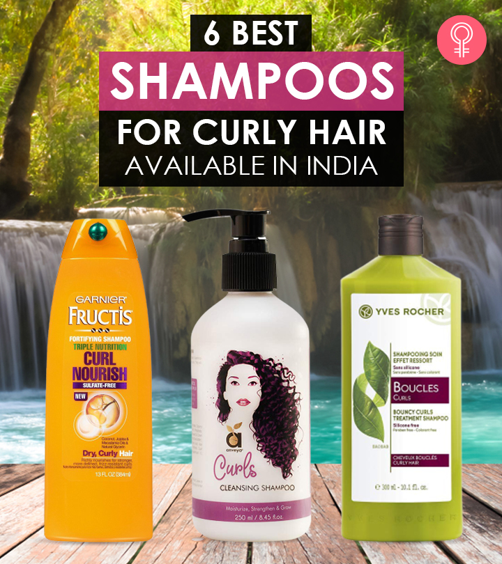 6 Best Shampoos For Curly Hair Available In India