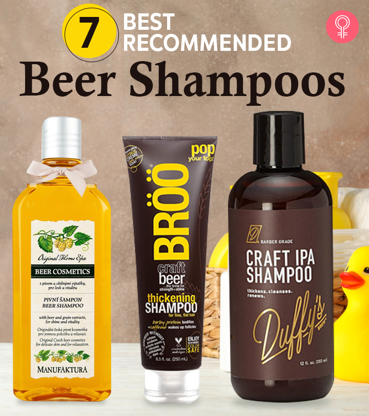 7 Best Recommended Beer Shampoos Of 2021