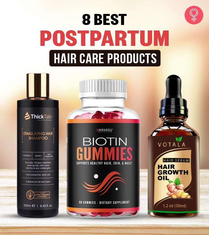 8 Best Postpartum Hair Care Products