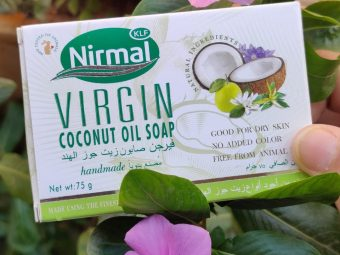 KLF Nirmal VCO Soap pic 2-Very Moisturising-By thecolorfool