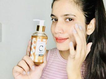 St.Botanica Vitamin C Face Wash -Helps in reducing blemishes-By priyaarora17