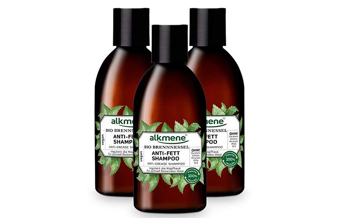 Alkmene anti fat shampoo with organic nettle