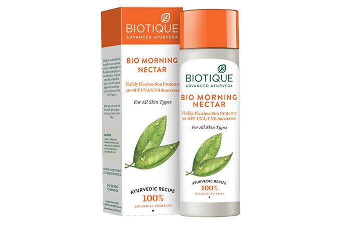 BIOTIQUE Bio Morning Nectar Sunscreen