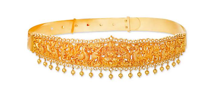 Bejewelled Waist Belt