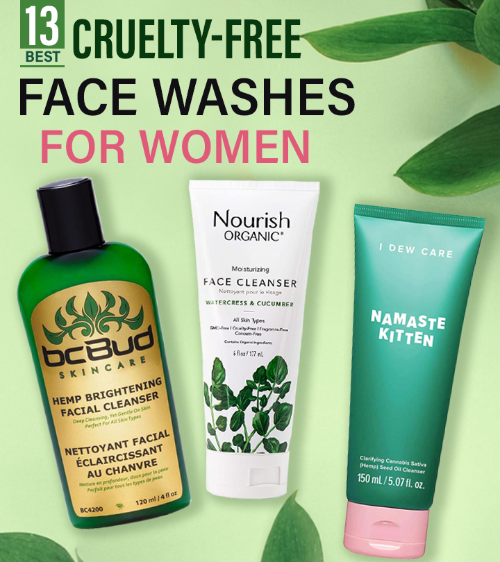 13 Best Cruelty-Free Face Washes For Women