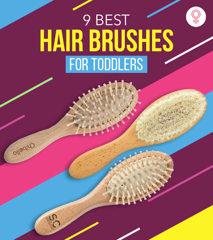 9 Best Hair Brushes For Toddlers