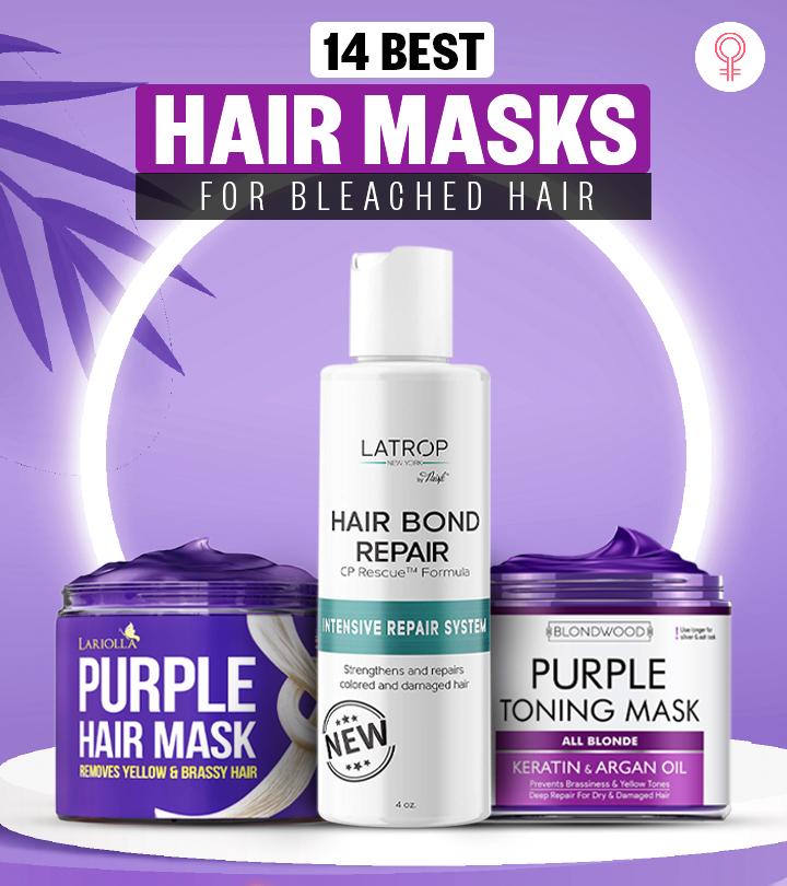 14 Best Hair Masks For Bleached Hair