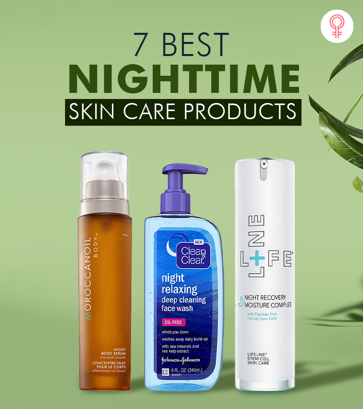 7 Best Nighttime Skin Care Products