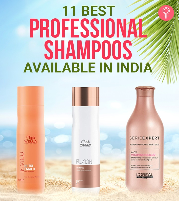 11 Best Professional Shampoos Available In India