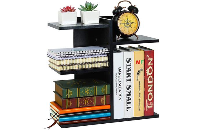 Book and Desk Organizer