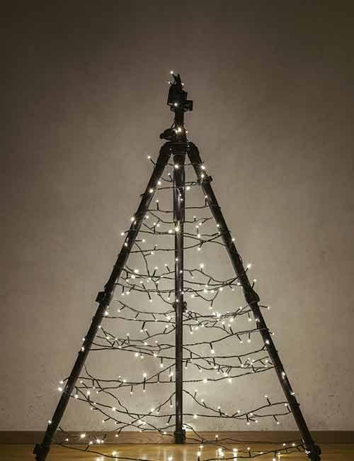 Camera Tripod Christmas Tree