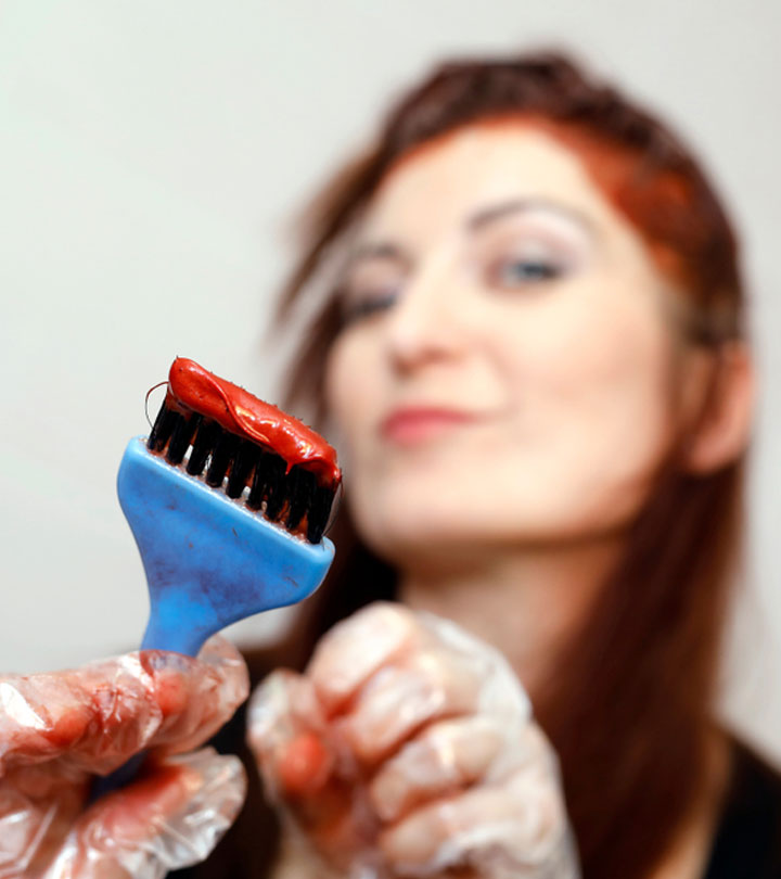 Can You Dye Your Hair When It Is Greasy?