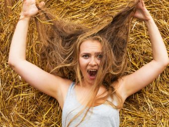 Dry Hair Causes And Remedies
