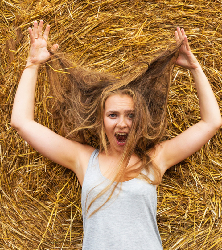 Dry Hair: Causes And Remedies