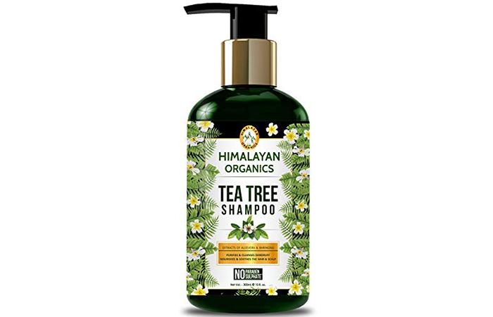 HIMALAYAN ORGANICS Tea Tree Shampoo