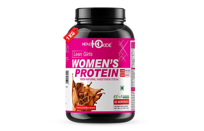 HealthOxide Lean Girls Women's Protein