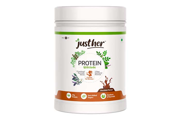 JustHer Protein With Herbs