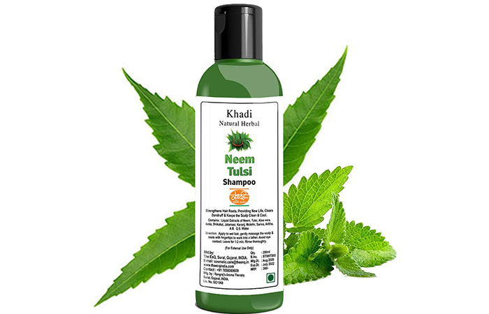 Khadi Natural Herbal Neem Tulsi Shampoo