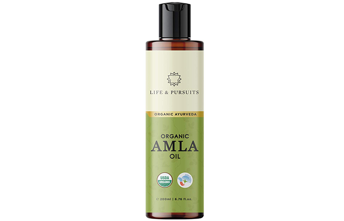 LIFE & PURSUITS Organic Amla Oil