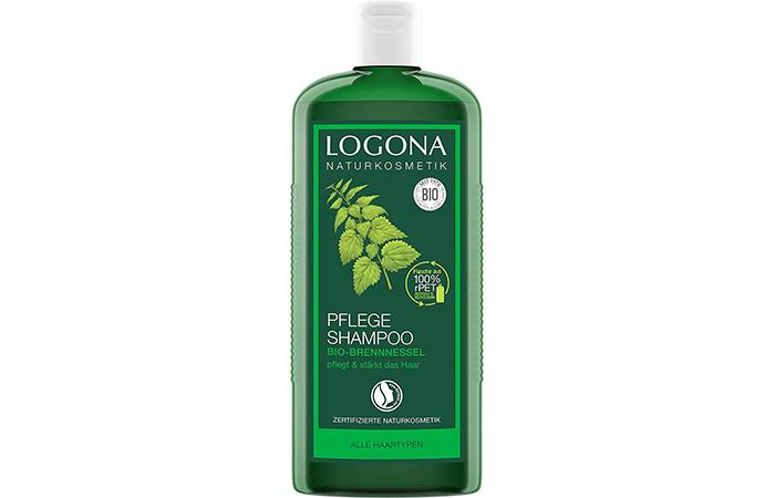 LOGONA natural cosmetics care shampoo