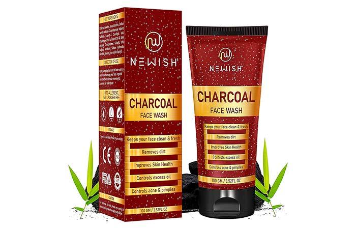 NEWISH Charcoal Face Wash