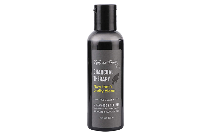 Nature Trail Charcoal Therapy Face Wash