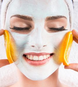 Orange Face Pack in Hindi