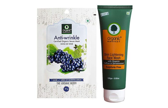 Organic HARVEST Skin Lightening Face Wash