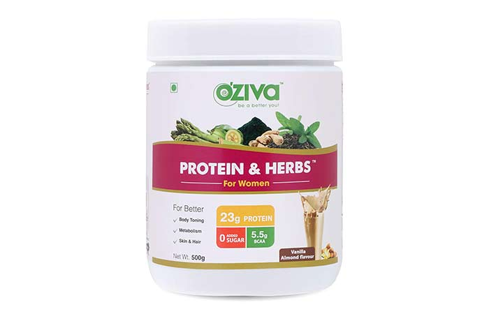 Oziva Protein and Herbs