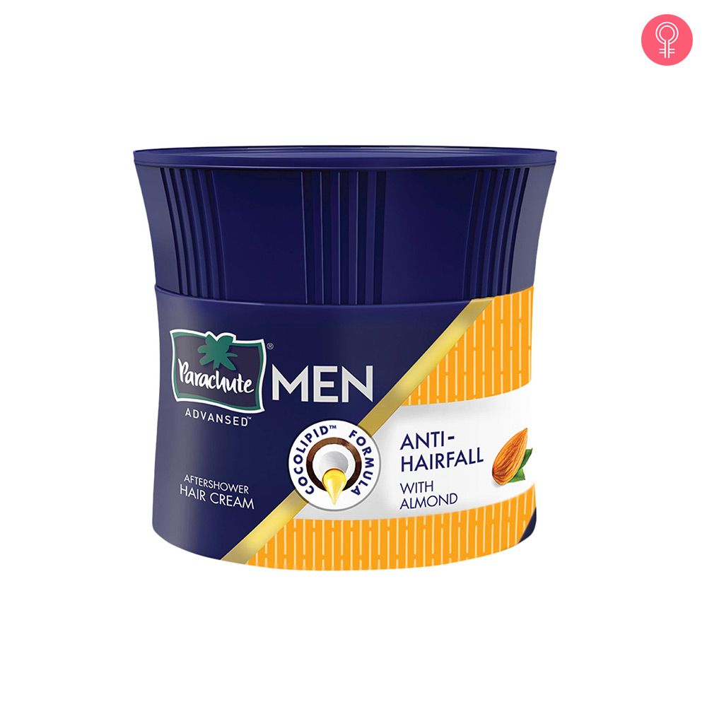 Parachute Advansed Men Anti Hairfall Hair Cream, With Almond Oil
