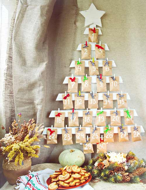 Pick-A-Number-Chit Christmas Tree