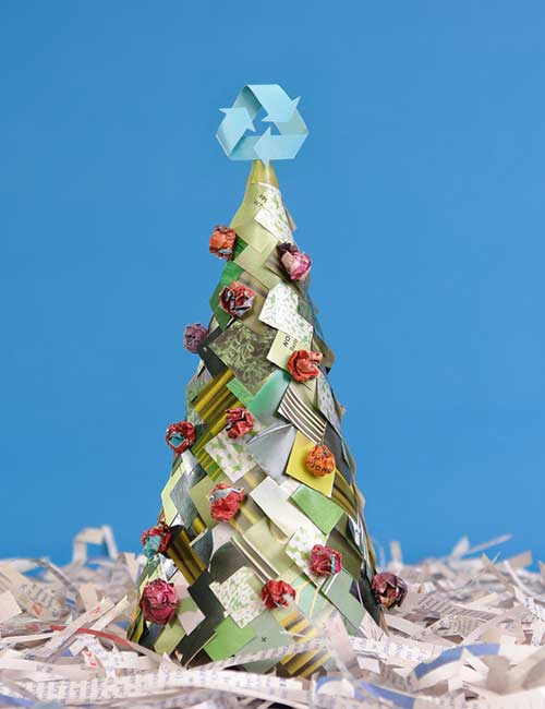 Recyclable Christmas Tree