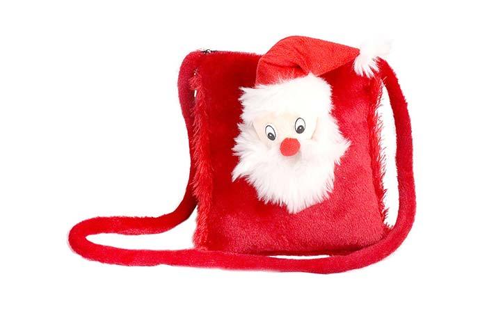 Santa clause sling bag