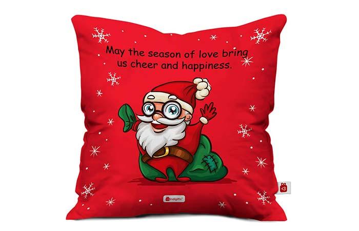 Santa cushion cover