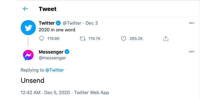 Twitter is the month of December 2020-11