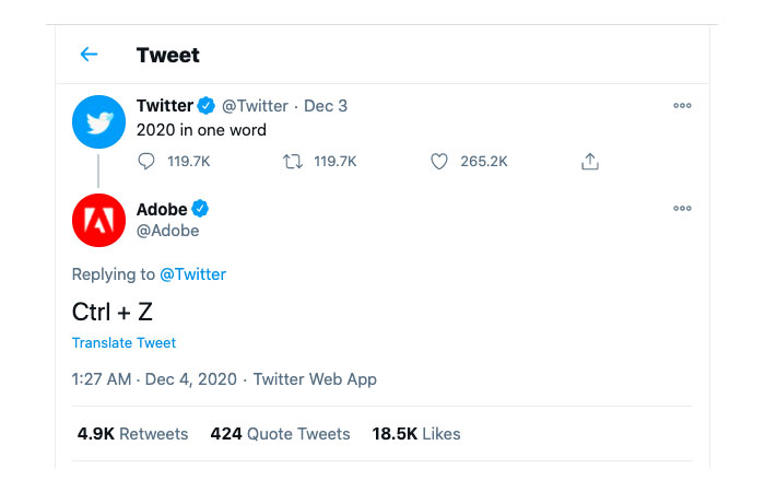 Twitter is the month of December 2020-6