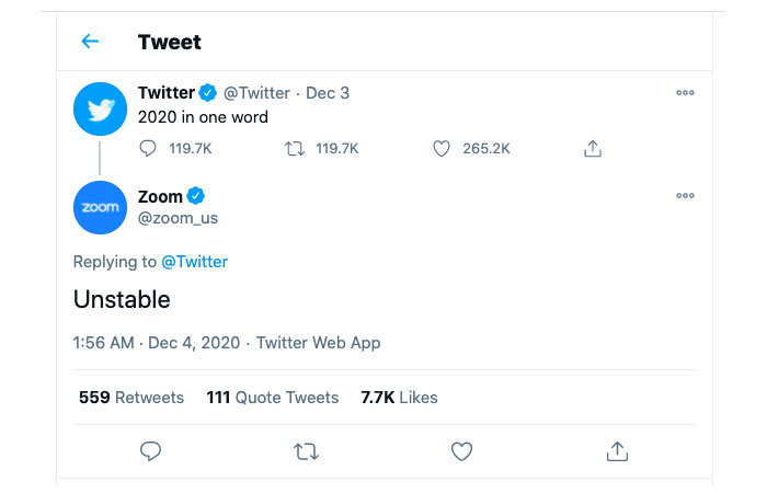 Twitter is the month of December 2020-8