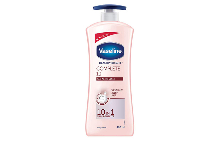 Vaseline HEALTHY BRIGHT Complete 10Anti-AgeingLotion