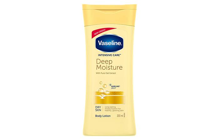 Vaseline INTENSIVE CARE Deep Moisture Body Lotion